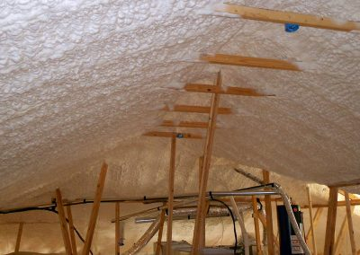 Diversified Energy Spray Foam Gallery - Attic & Roofline