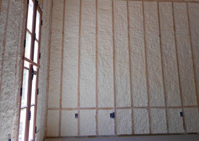 Spray Foam Gallery - Walls